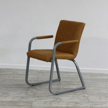 NEW MARY HL | Armchair in buffalo leather
