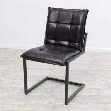 BOSS | Chair in buffalo leather