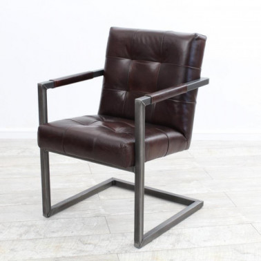 ARAD | Armchair in buffalo leather