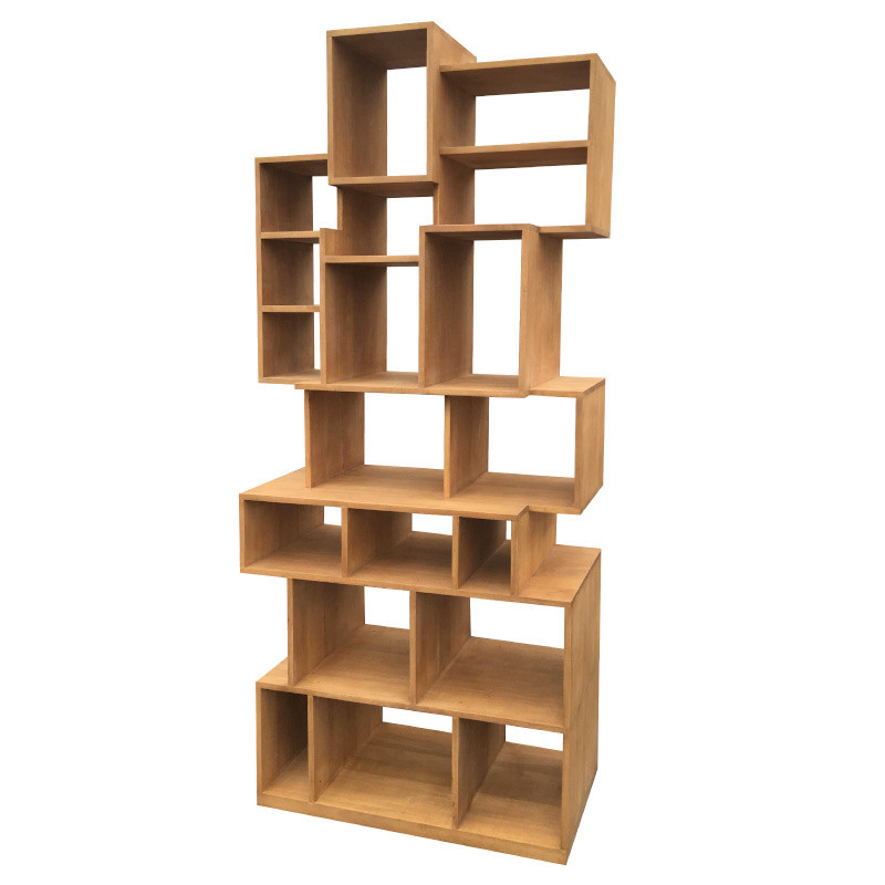 Cubes unstructured bookshelf
