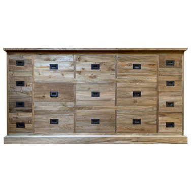 MARCEL | Chest of 17 drawers