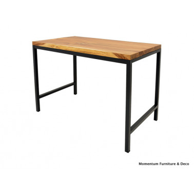 bar table in acacia