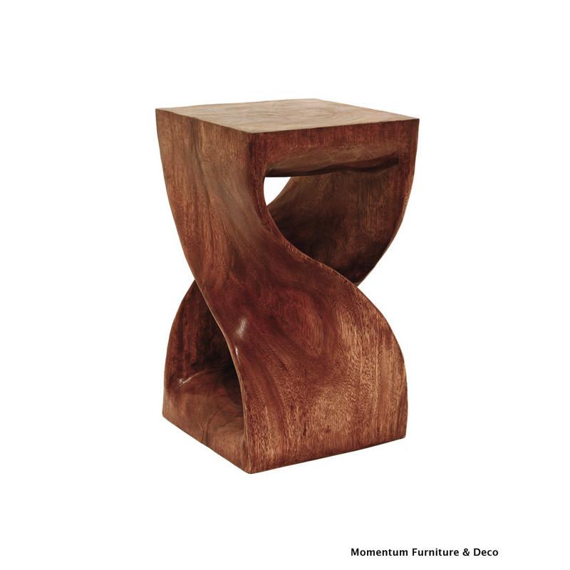 twist block stool