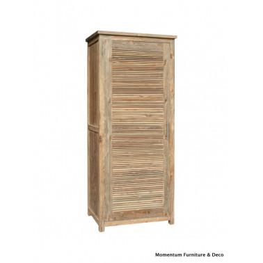 Wardrobe 1 door with shutters