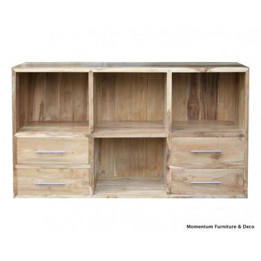 Tv / Hifi cabinet 3 drawers & 4 racks