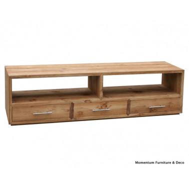 TORES   Meuble TV 3 tiroirs