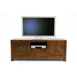 Chinese style Tv cabinet with 4 doors & 1 drawer