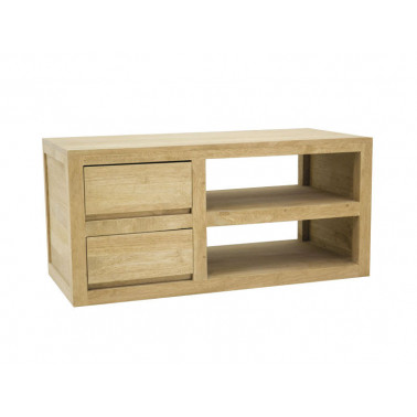 Low Tv cabinet with 2 drawers
