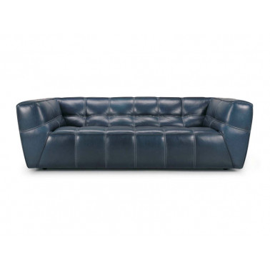 Collection of leather sofa,...