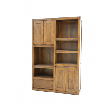 Bookshelf 4 Doors & 1 Drawer