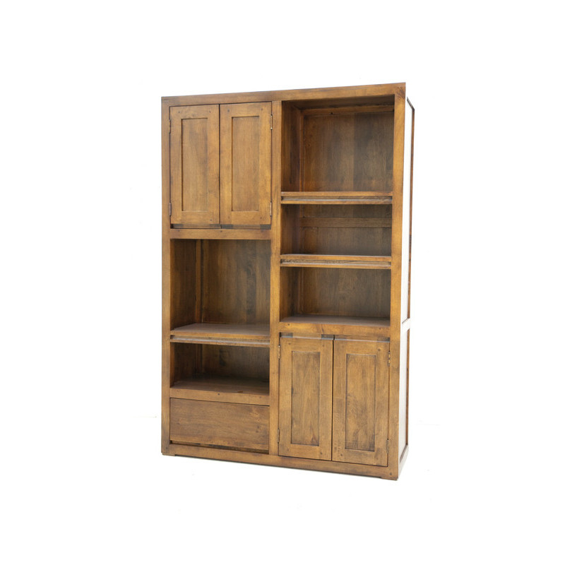 Bookshelf 4 Doors & 1 Drawer