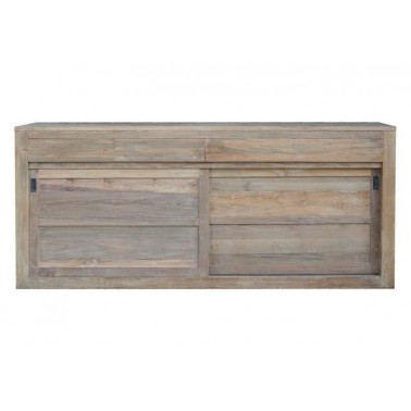 Sideboard w/ 2 sliding doors & 4 drawers