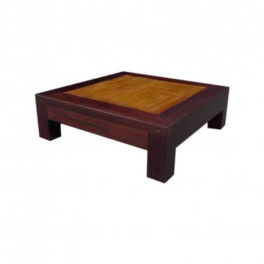 Small Coffee / Tea table in Wood & bamboo