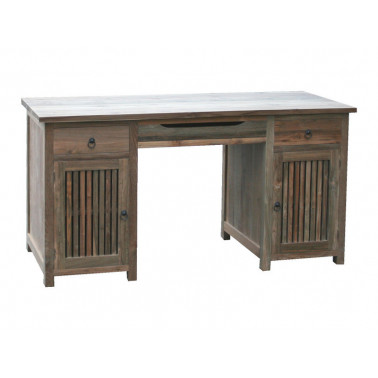 office / computer desk in teak wood