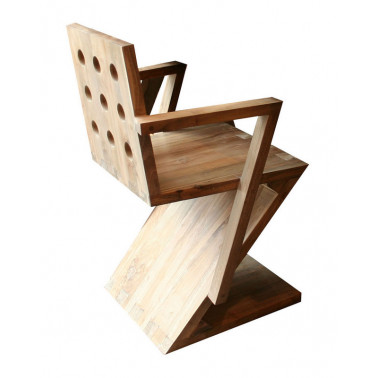 Modern classic Z chair with...