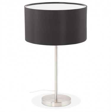 Table lamp in stainless steel