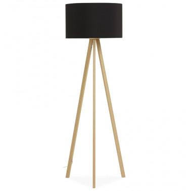 Design vloerlamp met zwarte...