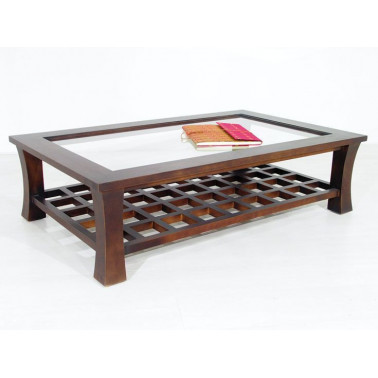 Low table, lattice and with...