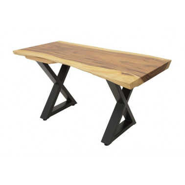 Acacia slab table