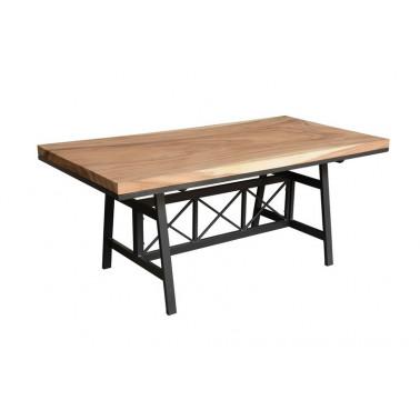 Eettafel acacia plaat 180x90