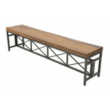 Bench acacia slab L180