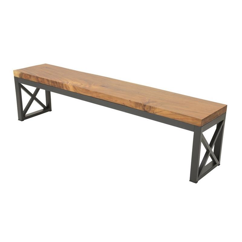 Bench acacia slab