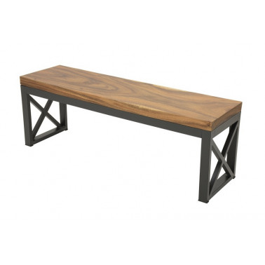 Bench in solid acacia