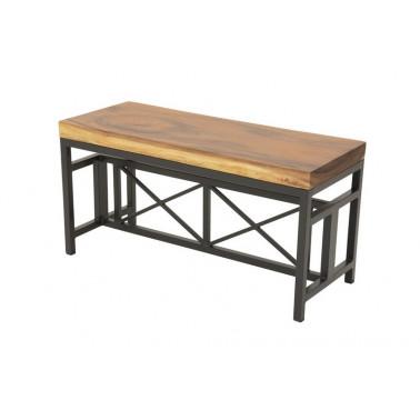 Bench acacia slab L90