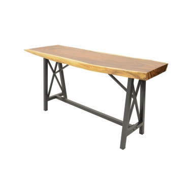 Bar table acacia slab