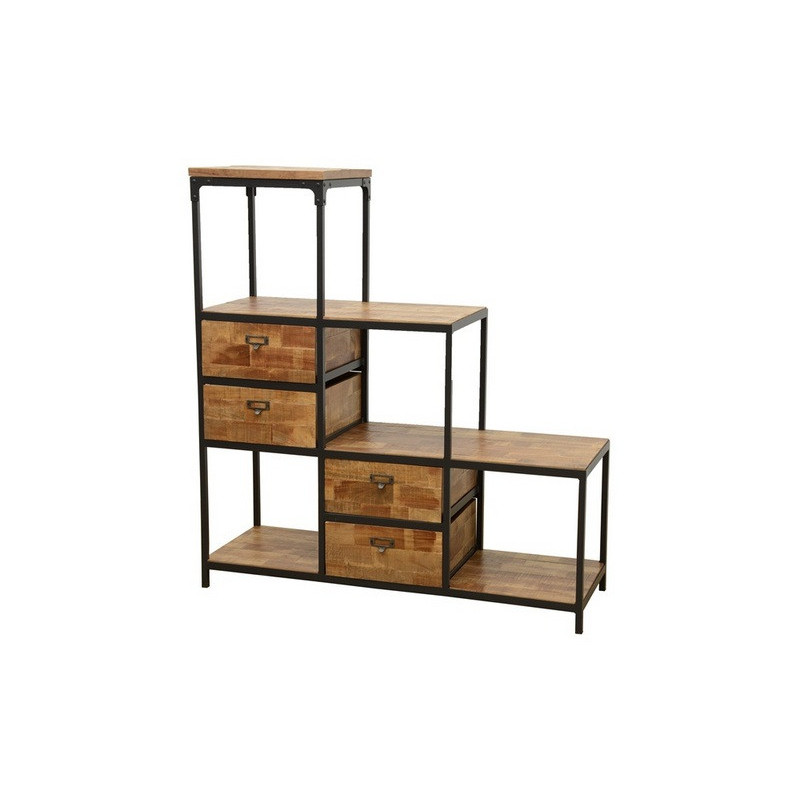 Stairs rack 4 drawers