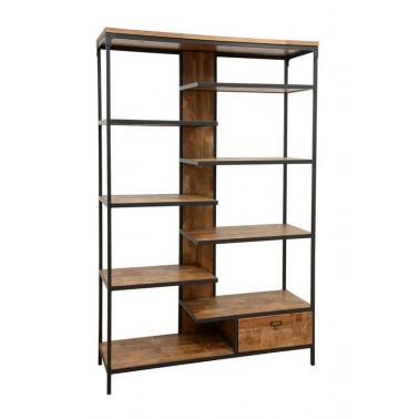 Bookshelf 1 drawer, factory