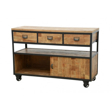 Cabinet 3 drawers, industrial