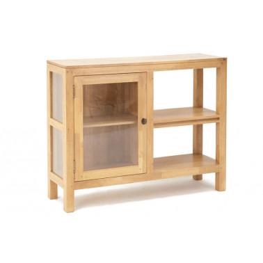 Low cabinet, 1 glass door
