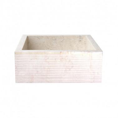 Wastafel in marmer