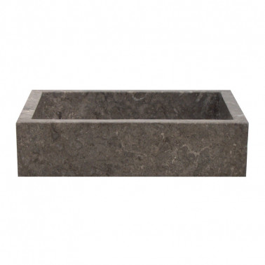 Rectangular shaped wash basin in marble
