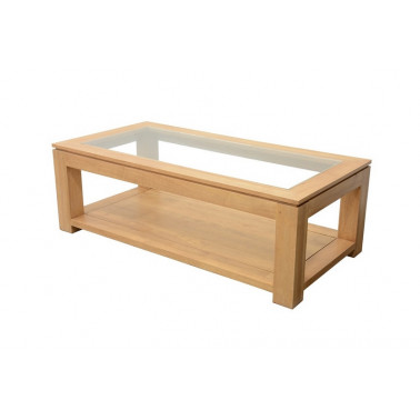 Low 2 levels with glass top