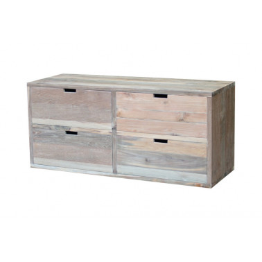 Low Chest of 4 drawers
