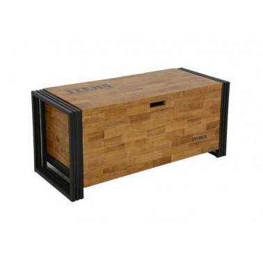Koffer in massief hout en...