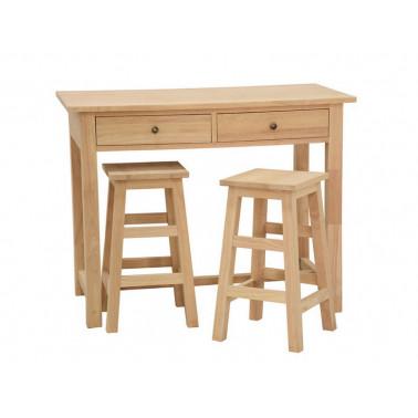 Set van keukentafel en 2...