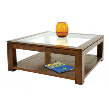 Coffee table with glass top...