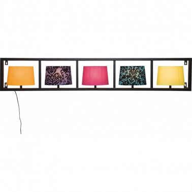WALL LAMP PARECCHI HORIZONTAL KARE DESIGN