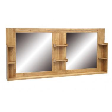 Badkamer spiegel met rekken