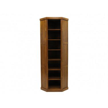 Modular corner bookcase