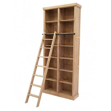 Boekenplank met ladder