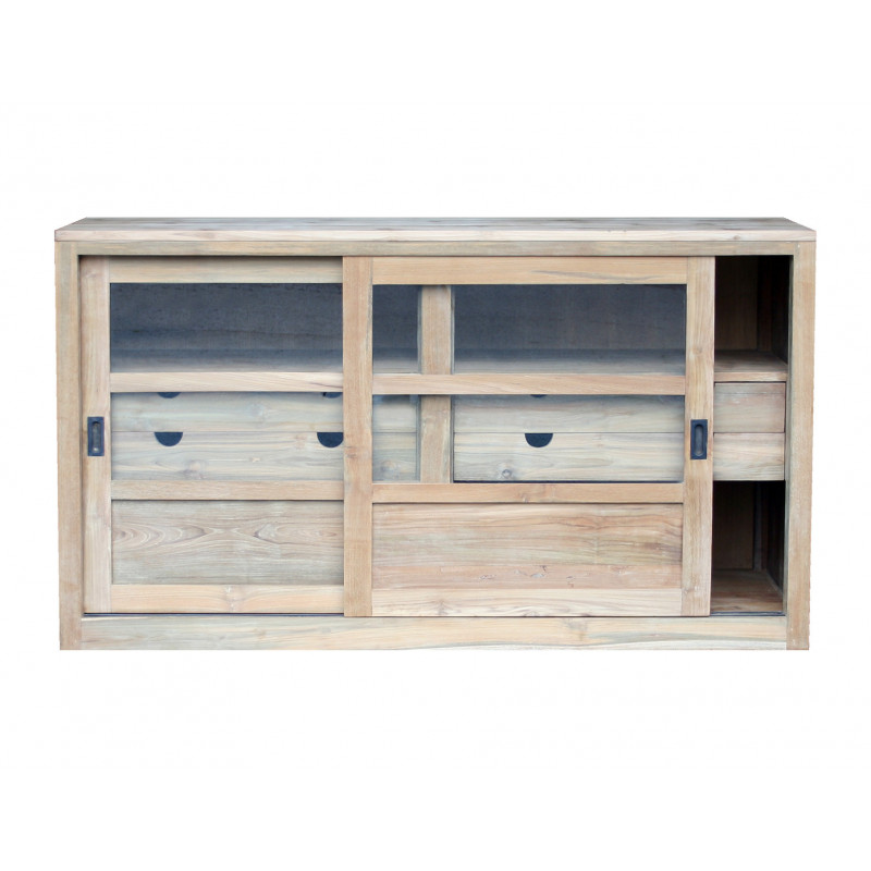 Sideboard with sliding doors & drawers